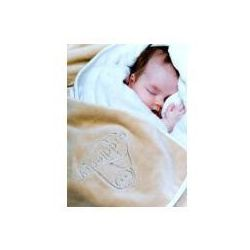 Cuddledry Baby Ręcznik Fartuch, kawowo-biały (5060159120023)