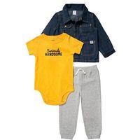 Carter's SET Body light grey - produkt z kategorii- Body niemowlęce