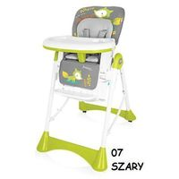 pepe krzesełko do karmienia szary 07 marki Baby design