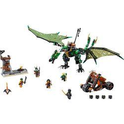 Lego Ninjago Zielony smok NRG 70593 (dziecięce klocki)