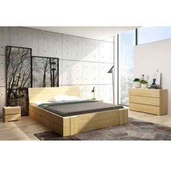 Łóżko drewniane sosnowe z szufladami VESTRE Maxi & DR 120-200x200