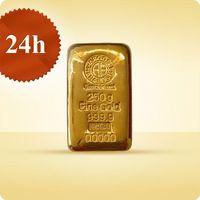 250 g Sztabka złota - wysyłka 24 h!