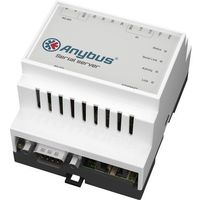 Serwer szeregowy Anybus AB7701, LAN, RS-232, RS-485, 12 V/DC, 24 V/DC (4016139001142)