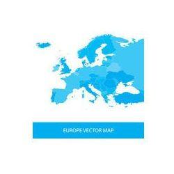 Foto naklejka samoprzylepna 100 x 100 cm - Europa mapa polityczna - oferta [955c4770977567f9]