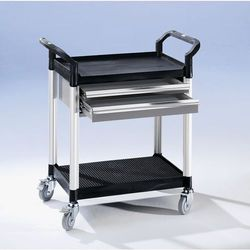 Unbekannt Wózek uniwersalny z szufladami,dł. x szer. x wys. 850 x 480 x 950 mm, 2 szuflady