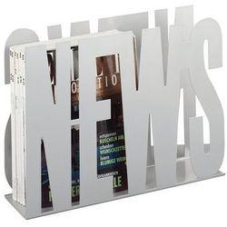 Zeller Metalowy gazetnik news, stojak na gazety, (4003368104508)