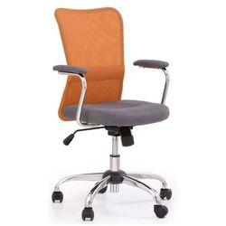 Fotel młodzieżowy Alwer - pomarańczowy, V-CH-ANDY-FOT-POMARAŃCZOWY