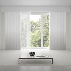 Zasłona okienna na wymiar - SNOW WHITE - KOLOR 150 CM