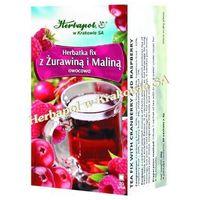 Herbatka fix z Żurawiną i maliną HERBAPOL