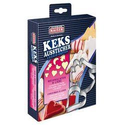 Kaiser xmas foremki, wykrawacze do ciastek 8 sztuk zestaw nr 1 marki Kaiser / x-mas kolekcje świąteczne