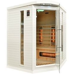 Sauna na podczerwień z koloroterapią dh3c gh white marki Home&garden