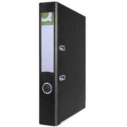 Segregator Q-CONNECT Hero z szyną, PP, A4/55mm, czarny