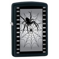Zapalniczka ZIPPO Spider Web Classic, Black Matte (Z26682) ()