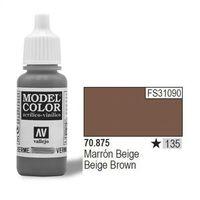 VALLEJO Farba Nr135 Beige Brown 17ml z kategorii farby modelarskie