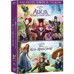 Alicja po drugiej stronie lustra. Alicja w krainie czarów. Pakiet 2 filmów (2 DVD) (7321917505956)