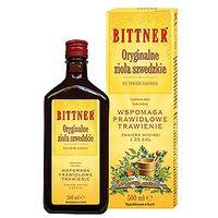 BITTNER Oryginalne zioła szwedzkie na trawienie 25 ziół bez alkoholu 50ml (5907734710173)
