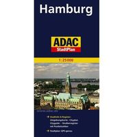Hamburg mapa 1:25 000 ADAC