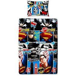 BATMAN VS SUPERMAN POŚCIEL DWUSTRONNA 140x200 (5055285389437)