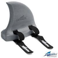 SWIMFIN Płetwa do nauki pływania - Szara - produkt z kategorii- Sprzęt pływacki dla dzieci