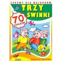 Trzy świnki Zabawy dla maluchów, oprawa miękka