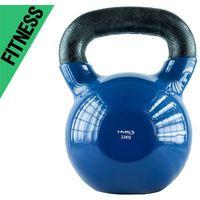 Kettlebell 32 kg kn pokryty winylem hms  fitness marki Kelton