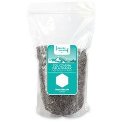 Sól czarna kala namak grubo mielona 1 kg - skarby oceanu wyprodukowany przez Skarby oceanu (sól morska i him