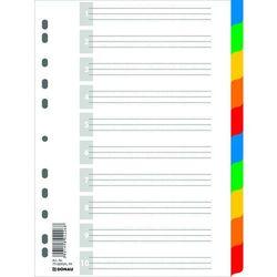 Przekładki , pp, a4, 225x297mm, 10+1 kart, mix kolorów marki Donau