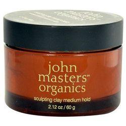 sculpting clay medium hold 60g w krem do włosów, marki John masters organics