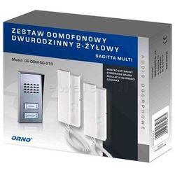 Zestaw domofonowy ORNO DOM-SG-919 Sagitta Multi dwurodzinny + DARMOWY TRANSPORT! (5901752484092)