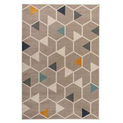 Dywan Capri 160 x 230 cm hexagon beżowy (5907736266043)