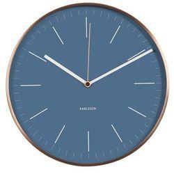 :: zegar ścienny minimal jeans blue marki Karlsson