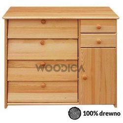 Woodica Szafka na buty iv + 2s+1d głęboka
