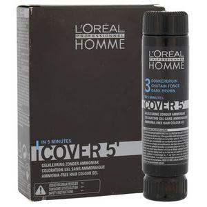 L'oréal professionnel L'oréal profesionnel série expert homme cover 3 farba żel do koloryzacji włosów dla mężczyzn 50ml