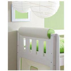 Ticaa kindermöbel Ticaa wałek/podłówek do łóżka kolor beżowo-zielony
