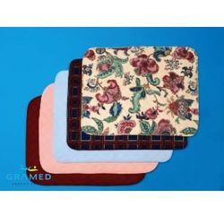 Ochronna nakładka na krzesło, (kolor burgund).