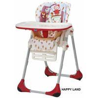 polly 2w1 krzesełko happy land czerwone czerwony kapturek marki Chicco