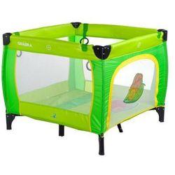 Caretero kojec Quadra dla dzieci zielony green