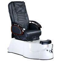 Beauty system Fotel do pedicure z masażem br-3820d czarny