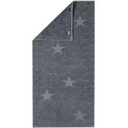 Cawö Frottier ręcznik kąpielowy Star szary, 70 x 140 cm, 70 x 140 cm - sprawdź w wybranym sklepie
