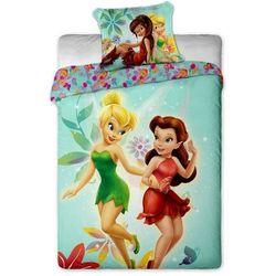 dziecięca pościel bawełniana dzwoneczek fairies, 140 x 200 cm, 70 x 90 cm marki Jerry fabrics