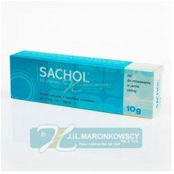 SACHOL żel 10 g (Preparaty na zapalenie dziąseł)