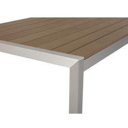 Aluminiowe meble ogrodowe brązowe VERNIO (7081454635768)