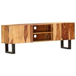 szafka pod tv, 130 x 30 x 47 cm, lite drewno akacjowe marki Vidaxl