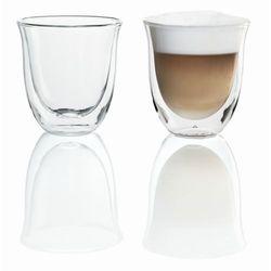 2x szklanki do cappuccino marki De'longhi