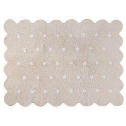 Dywan do prania w pralce: galleta - crema/beige (120x160 cm), marki Lorena canals