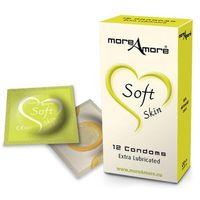 Ekstra nawilżane prezerwatywy Condom Soft Skin 12 sztuk