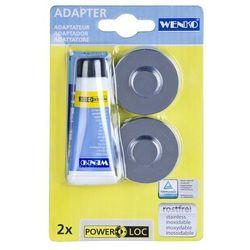 Wenko Elementy montażowe power-loc, adapter - baza do serii premium i classic,
