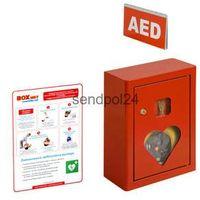 Szafka na aed z alarmem dźwiękowym 150 marki Boxmet medical