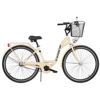 Indiana Rower  moena s1b cappucino z koszykiem stalowym + zamów z dostawą jutro! + darmowy transport