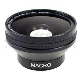 Konwerter szerokokątny 0,45x 37mm + macro z kategorii Konwertery fotograficzne